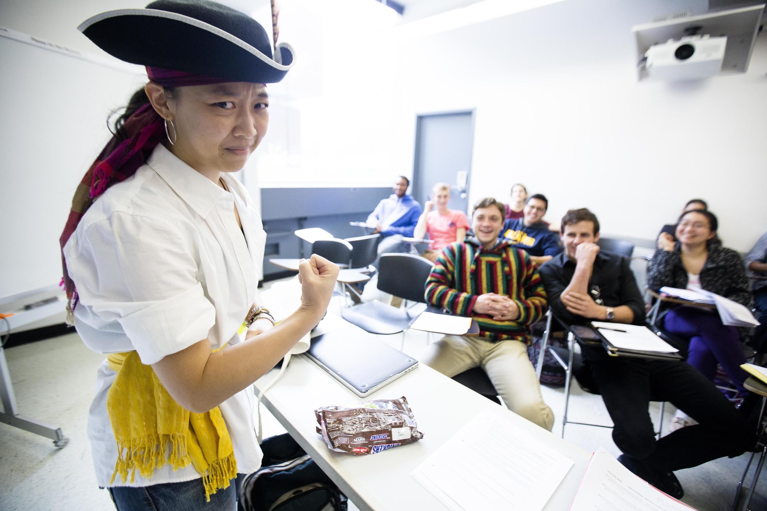 Yuen-Joyce Liu, LS1a TF. Photo by Ann Wang