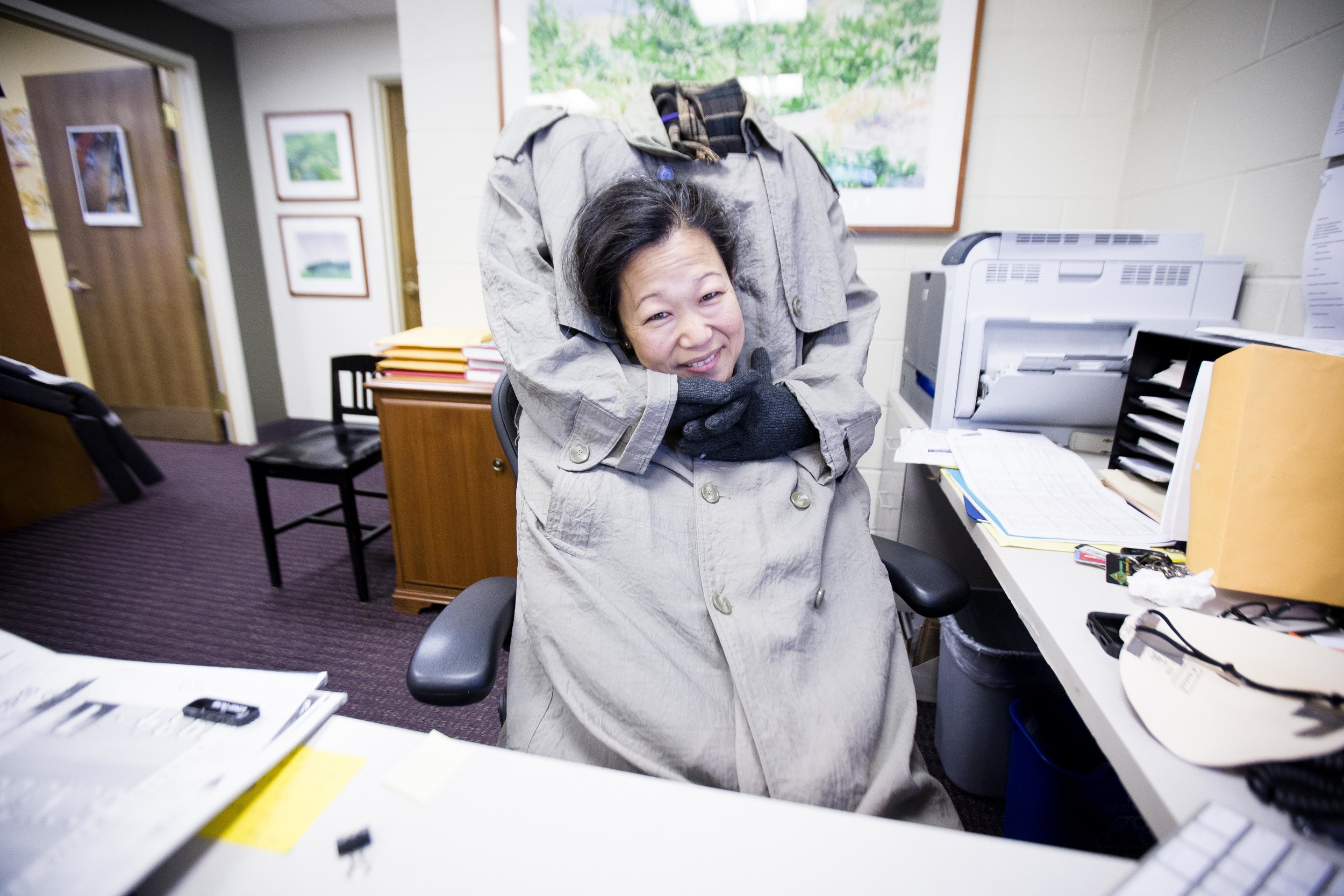 Harvard Department of Music facility has been doing Halloween celebration for the past 10 years. Eva Kim, Head of the Charles. Photo by Ann Wang