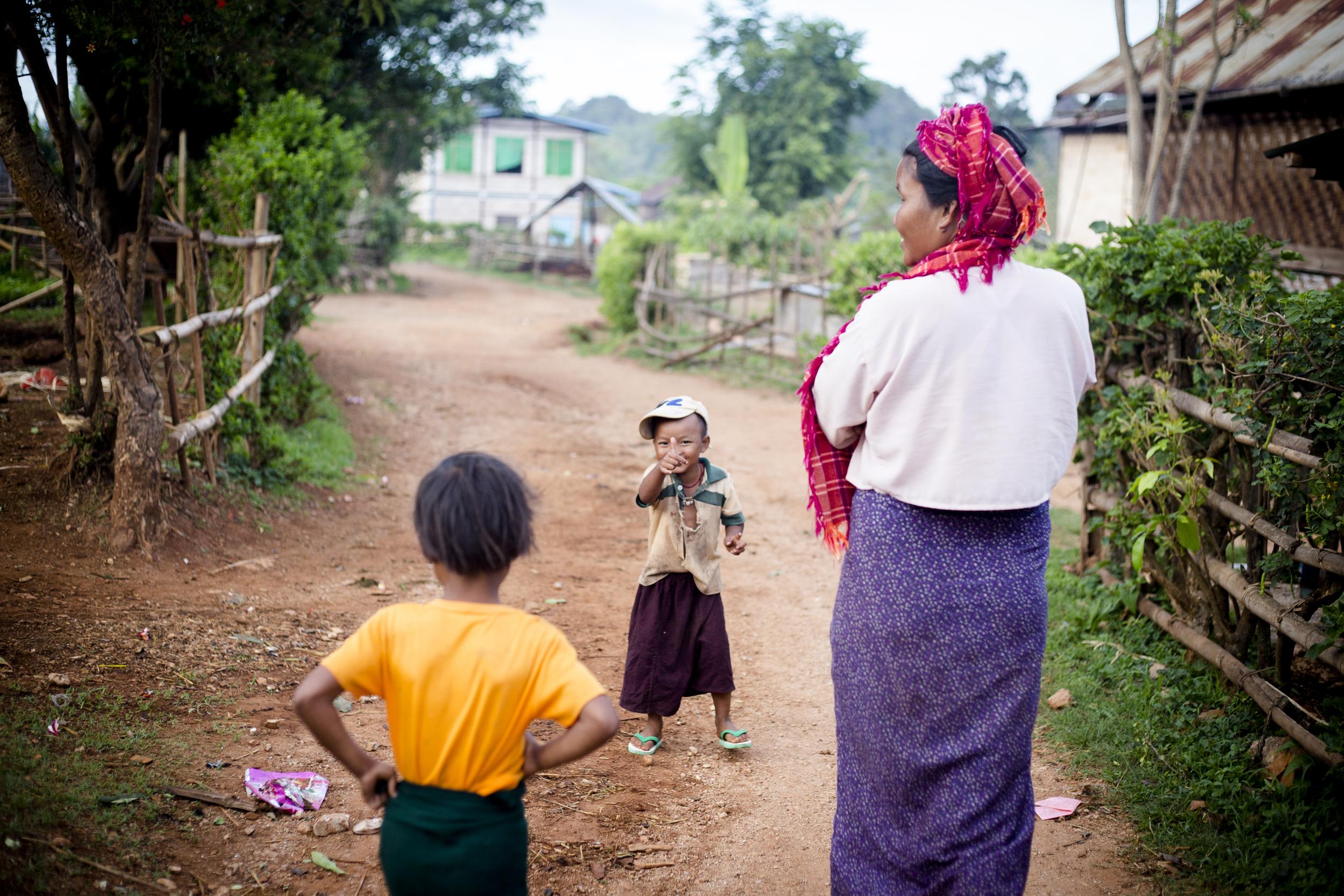 Myanmar summer 2014. Photo by Ann Wang