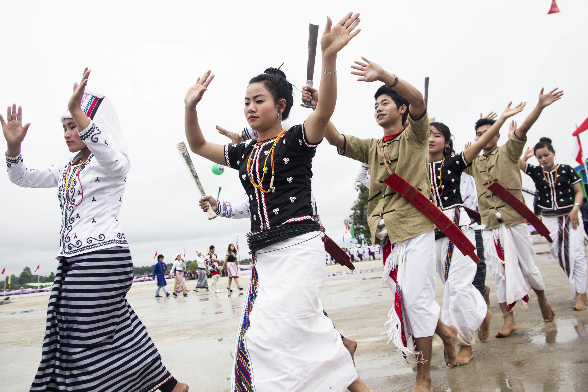 Rawang home-coming festival was held from April 19th to 23rd in Putao. Photo by Ann Wang