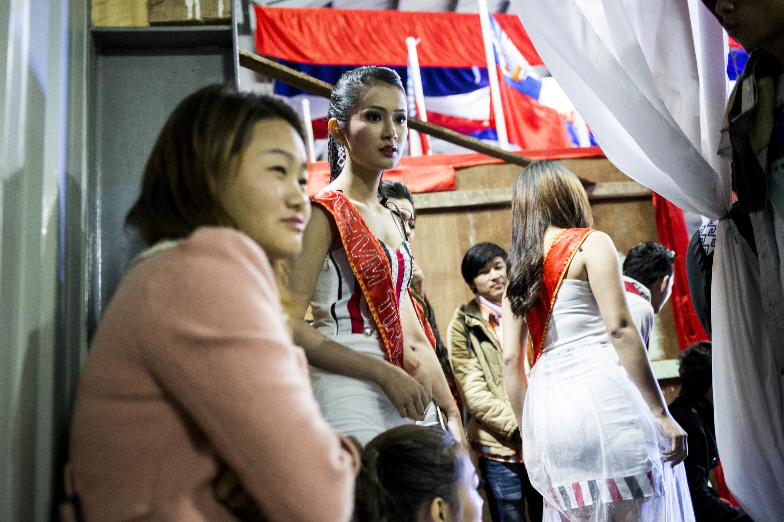 Miss. Rawang beauty pageant competition. Photo by Ann Wang