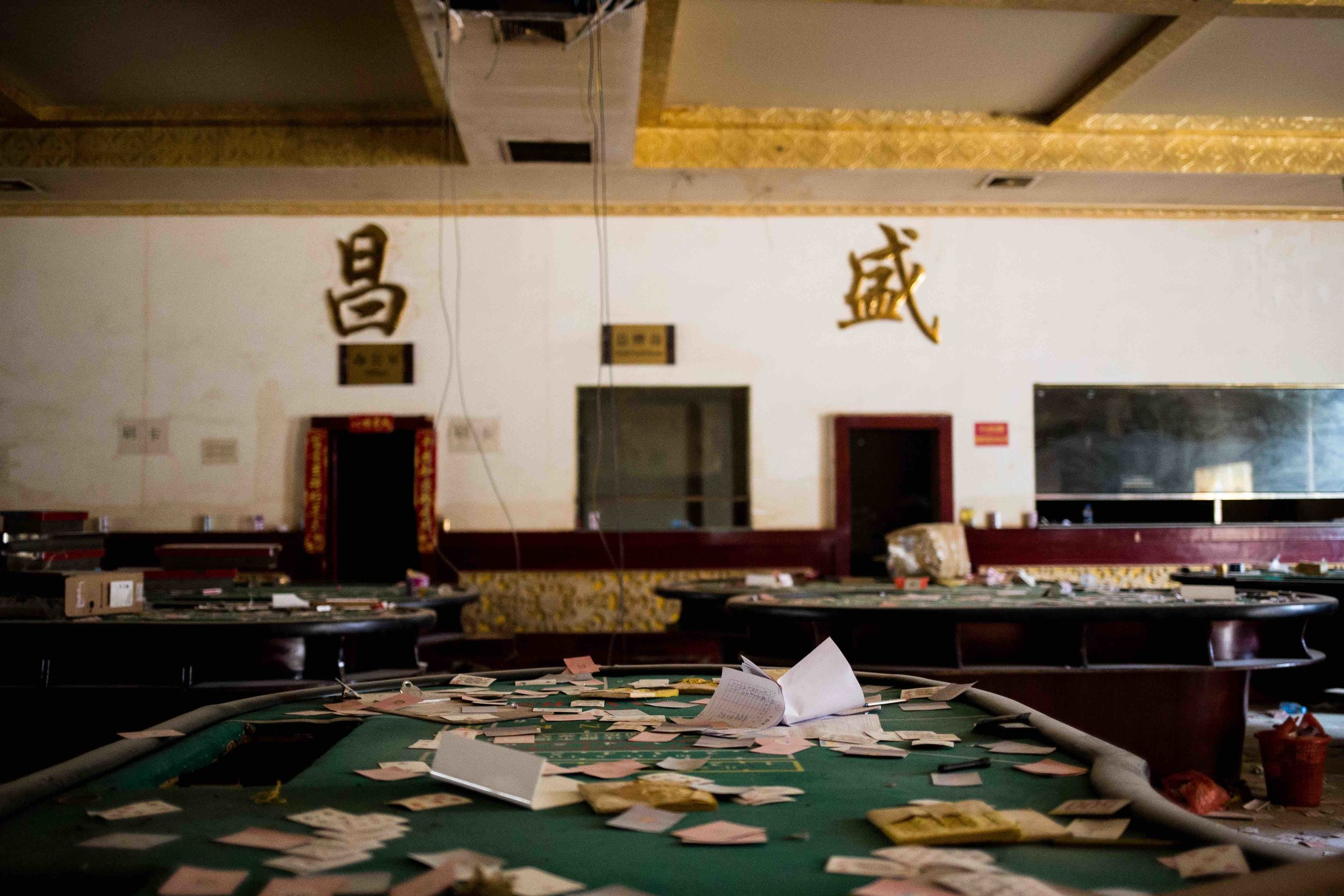 A casino was under attacked in March 2017 by MNDAA. Photo by Ann Wang