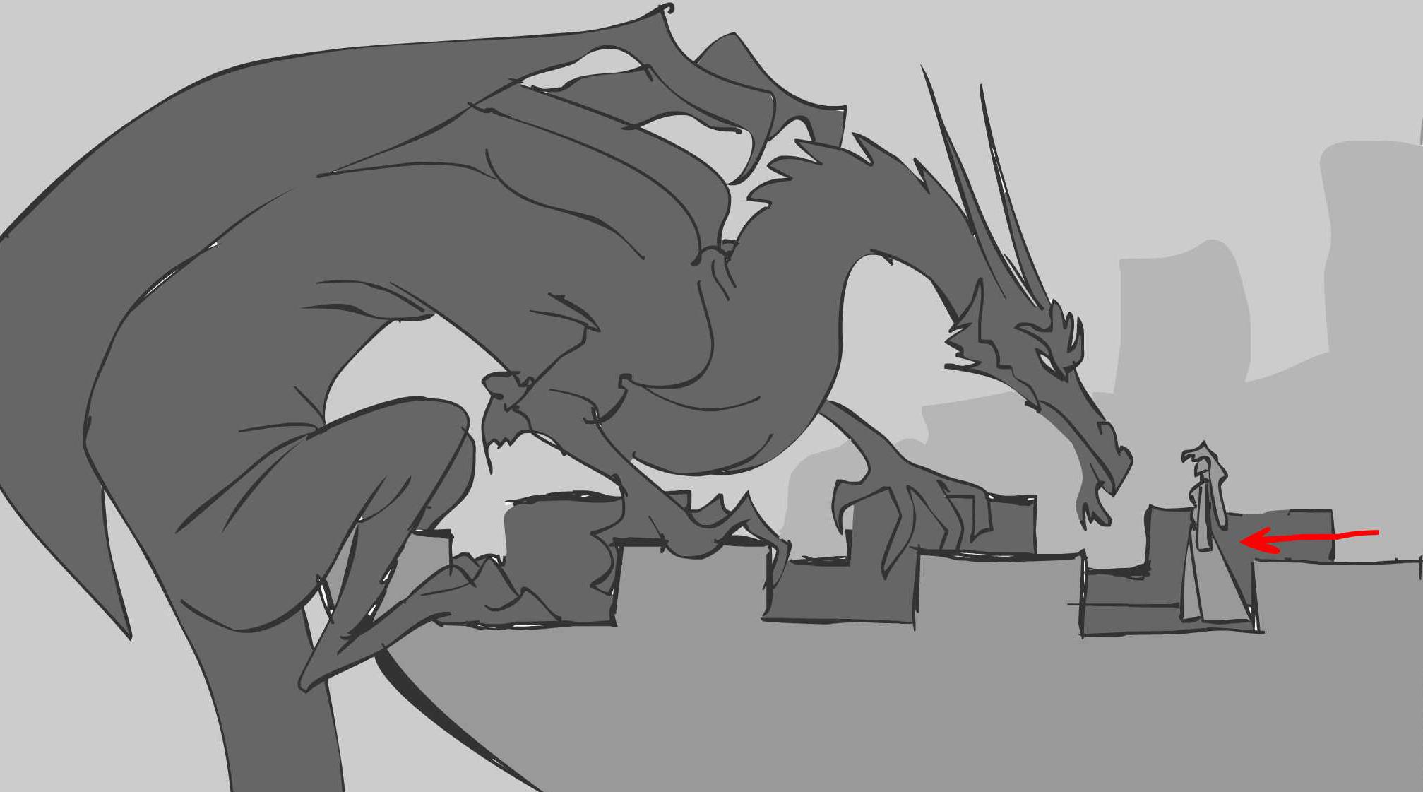 (Dragon Prince storyboard)