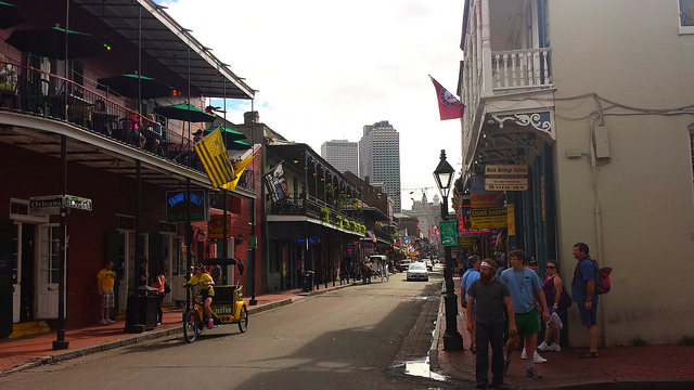 Bourbon Street , New Orleans