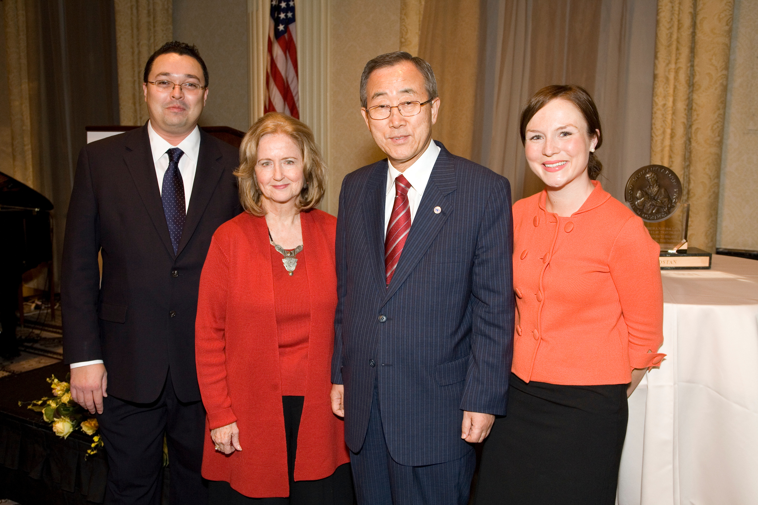 With UN Secretary General Ban Ki-moon