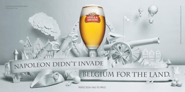 Stella Artois Advertisement