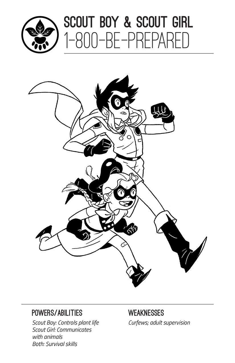 Scout Boy & Scout Girl