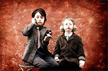 El Corazon photography, fine art children's portrait by Portland photographer Kim Campbell.