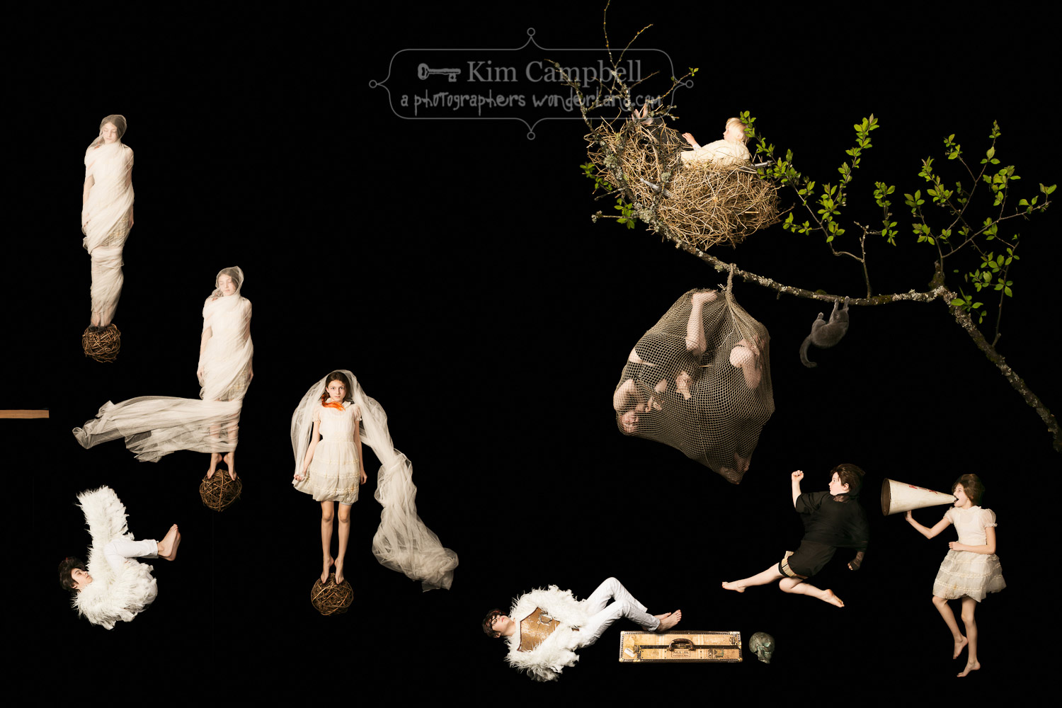 The Childhood Gravity Games - Natural // by fine art photographer Kim Campbell