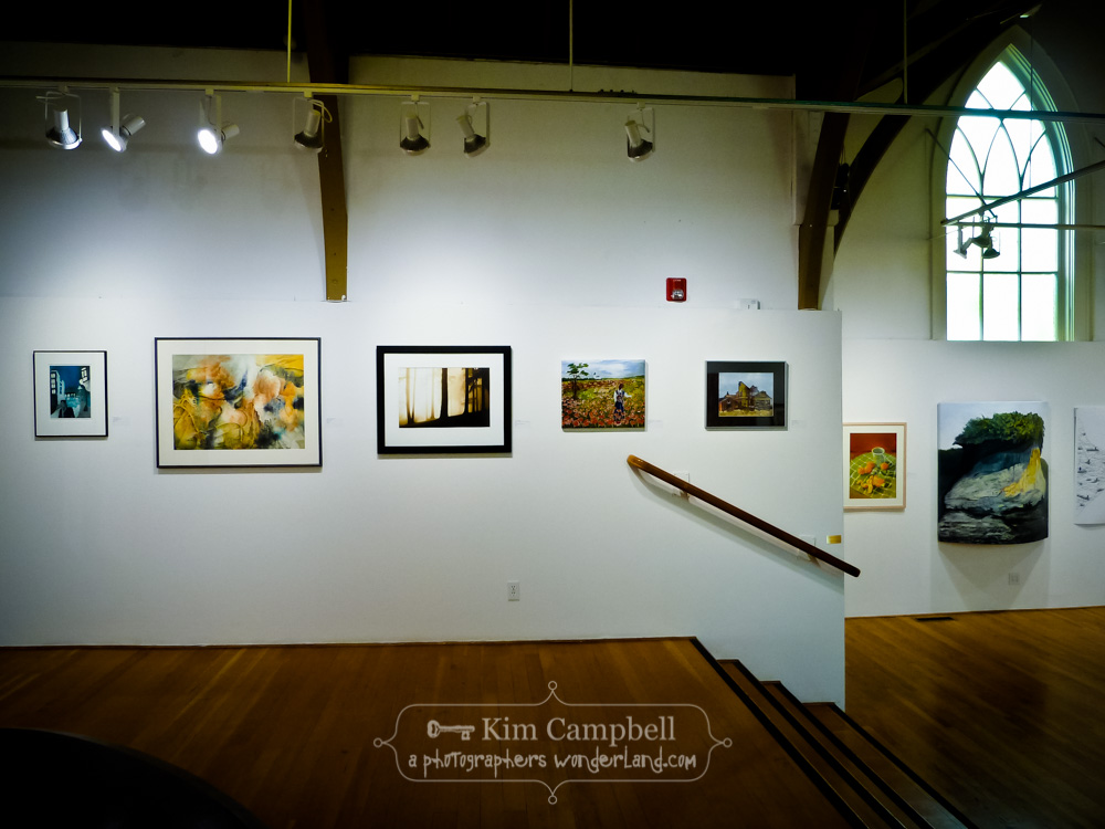 The Arts Center Around Oregon Annual 2014 Show, photograph of trees in fog by Pacific Northwest fine art photographer Kim Campbell.