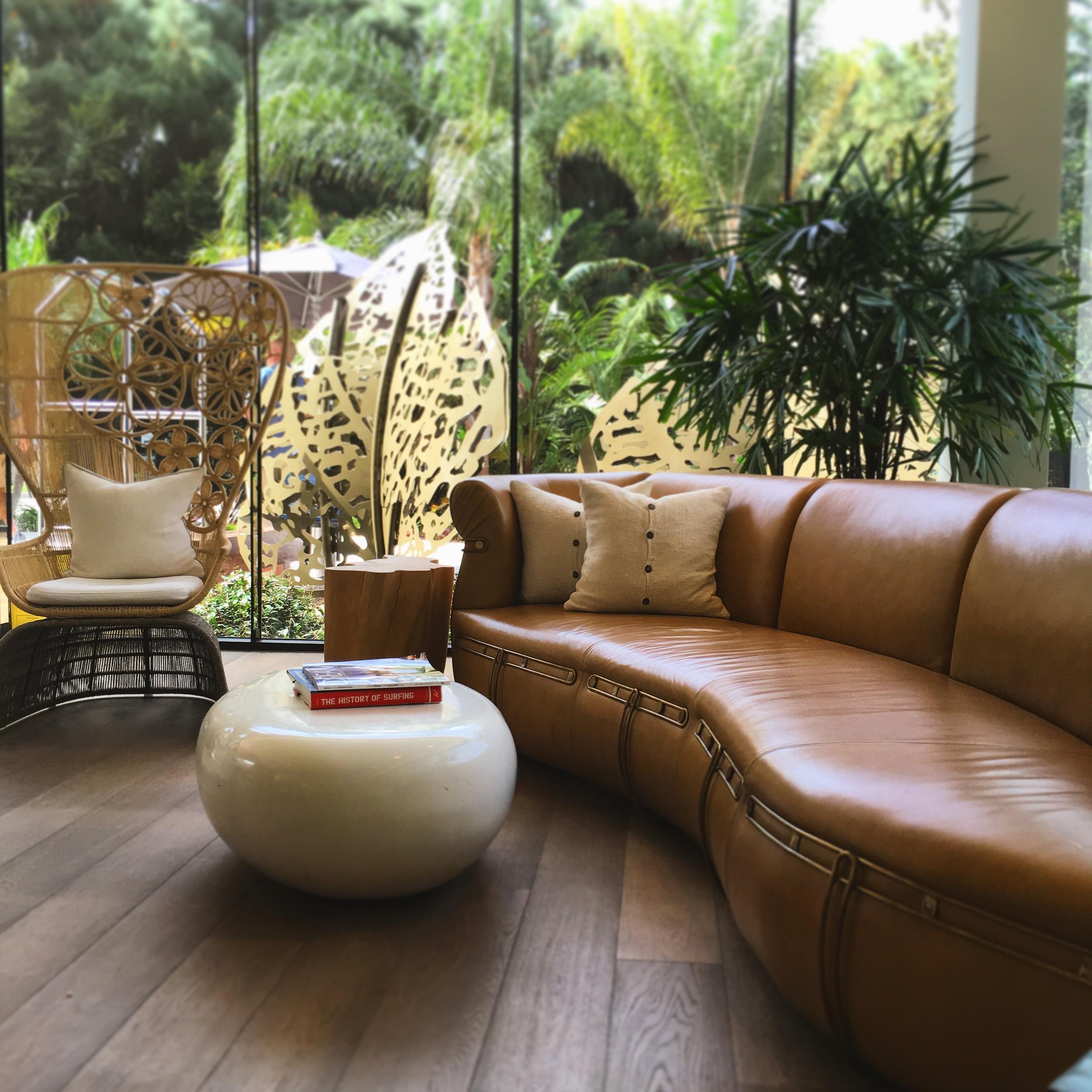 Hotel La Jolla's warm SoCal style is warm and welcoming. [Location: La Jolla]