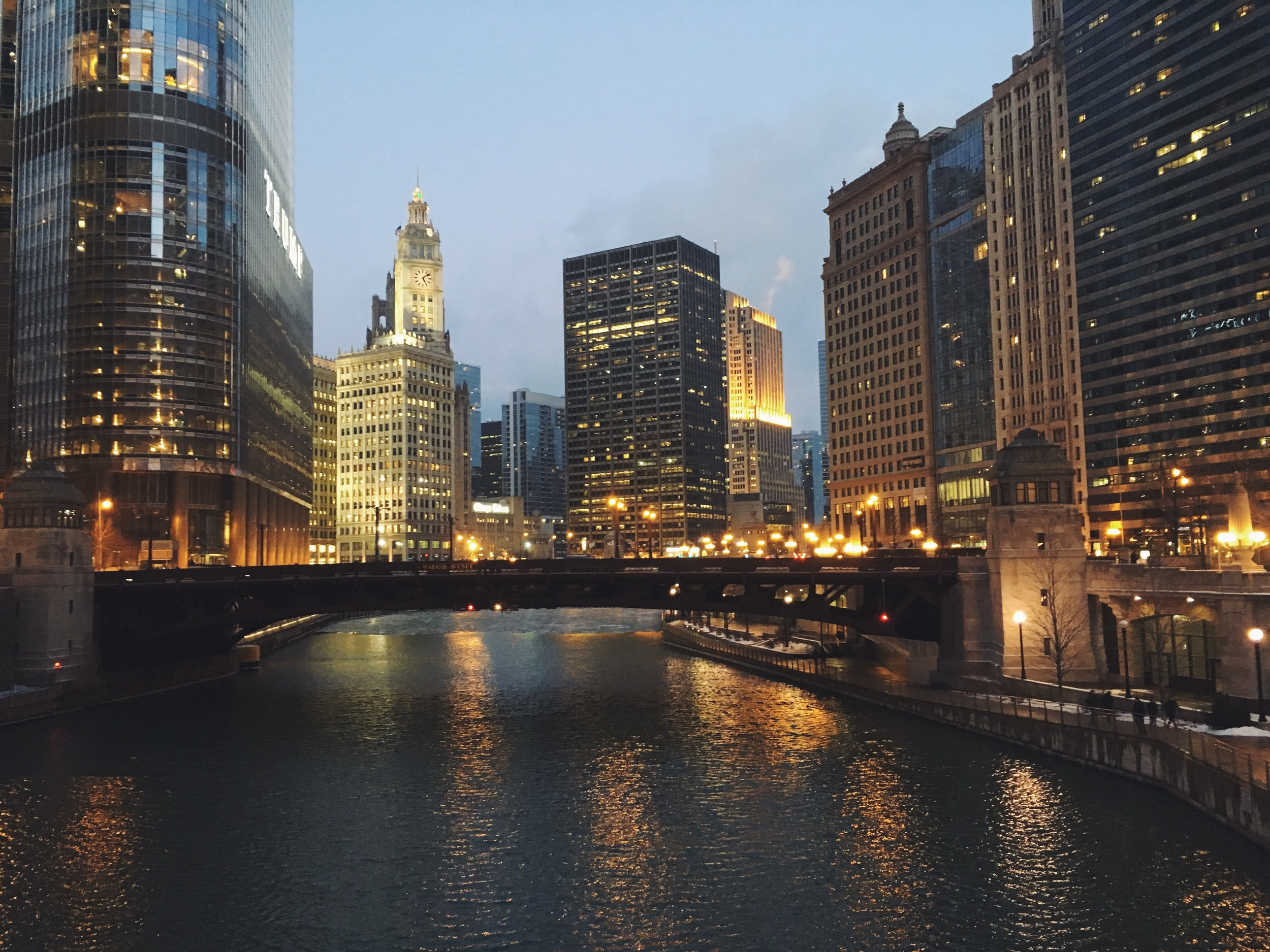 All that glitters, Chicago River