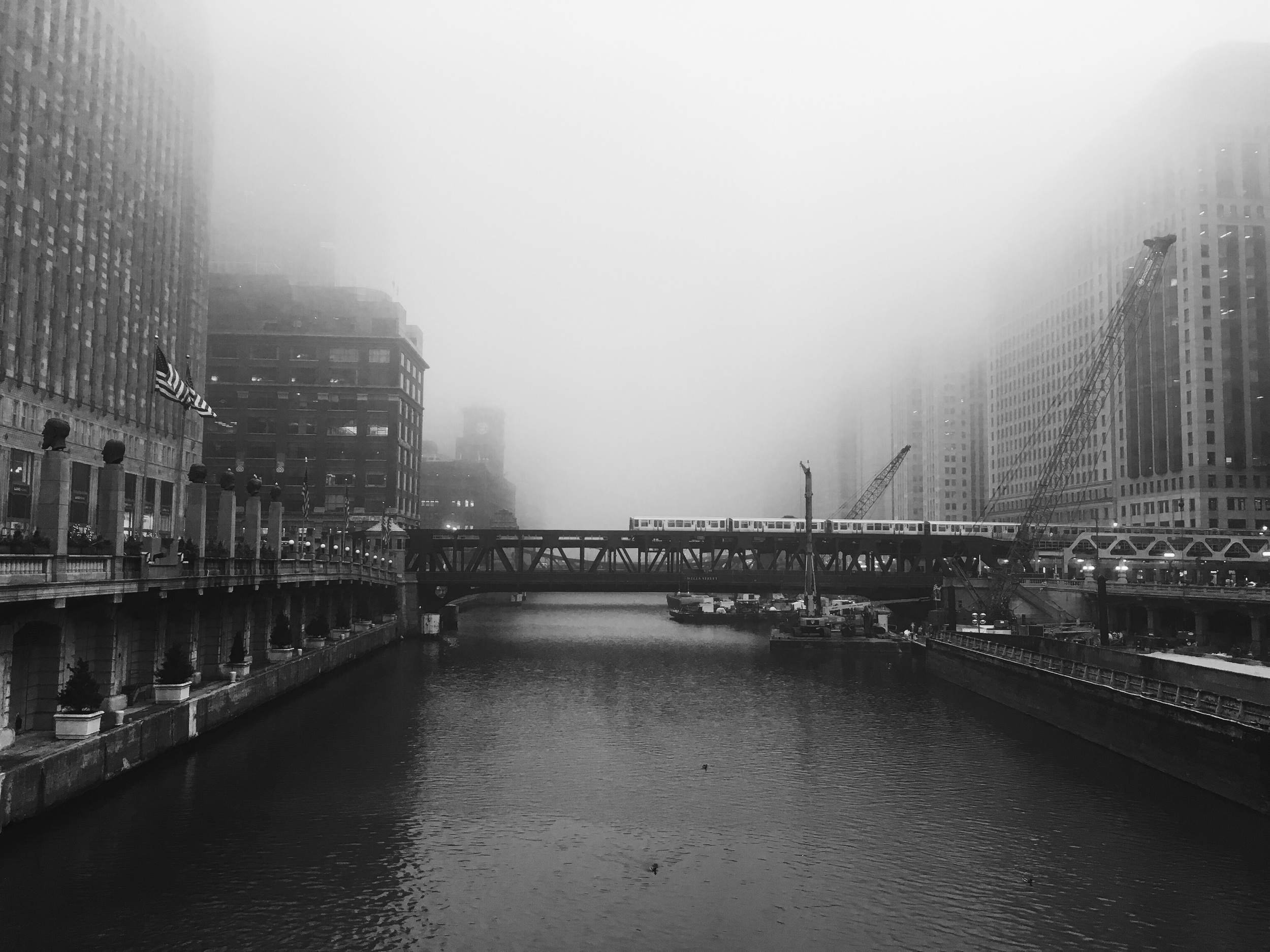 Franklin St bridge