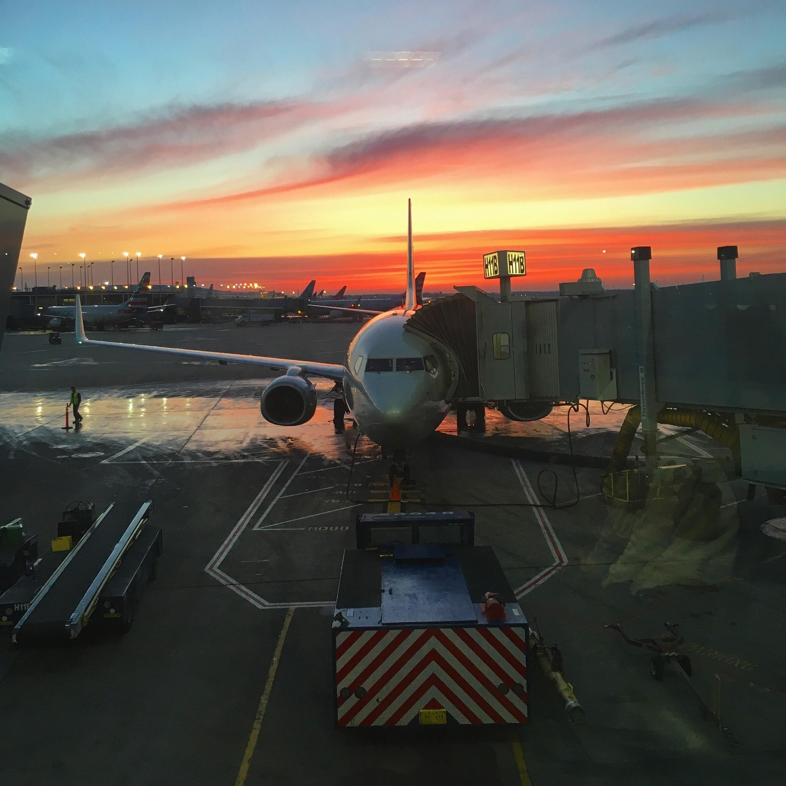 Where all adventures begin. Terminal 3; ORD.