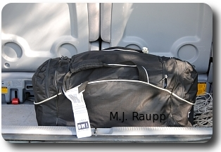 Soft luggage provides many seams and pockets for bed bugs to hide and travel home with you.