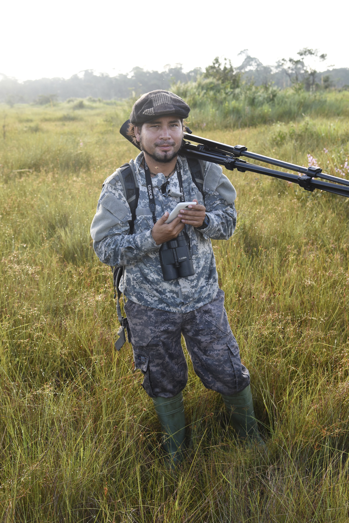 Yohamir Casanaca Leon has previously worked monitoring wildlife in Pampas de Heath, Peru with his non-profit employer, AIDER. He spent his second Global Big Day in the savanna with the aim to contribute endemic species to the world list.