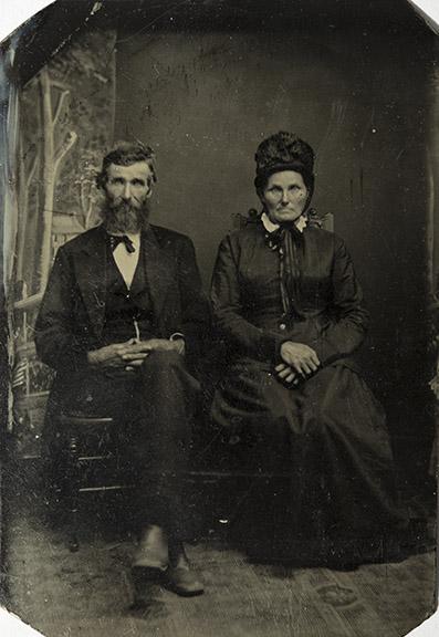 George and Sarah Bennett, c. 1870s