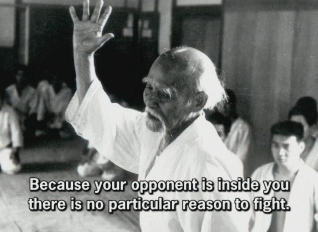 Morihei Ueshiba, founder of Aikido