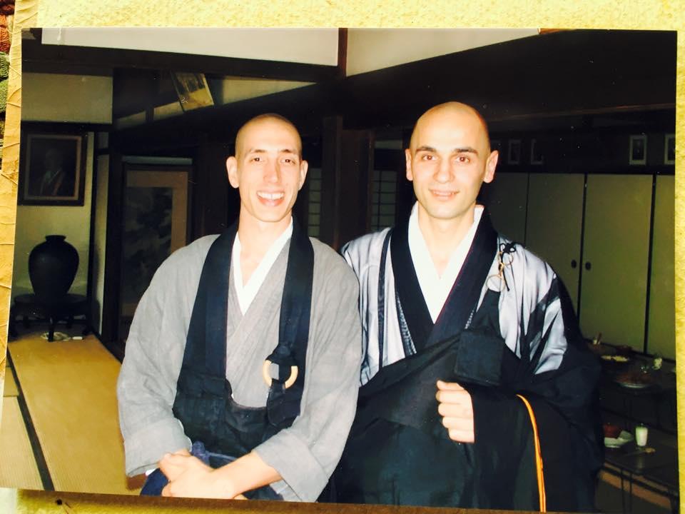 My good friend Sogaku and I