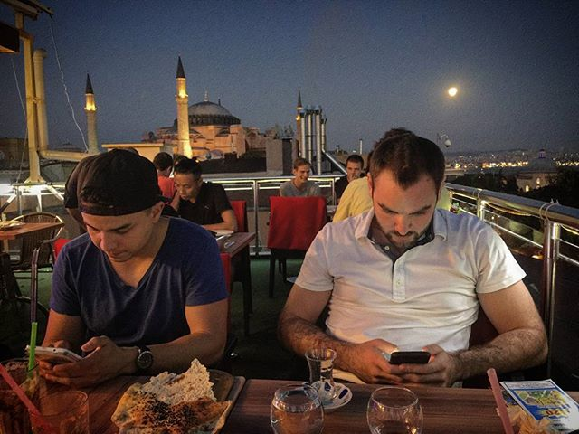 Spot the Americans on Vacation.  #PhoneFinds #Travel #Instanbul  #LifeTold #places #Views