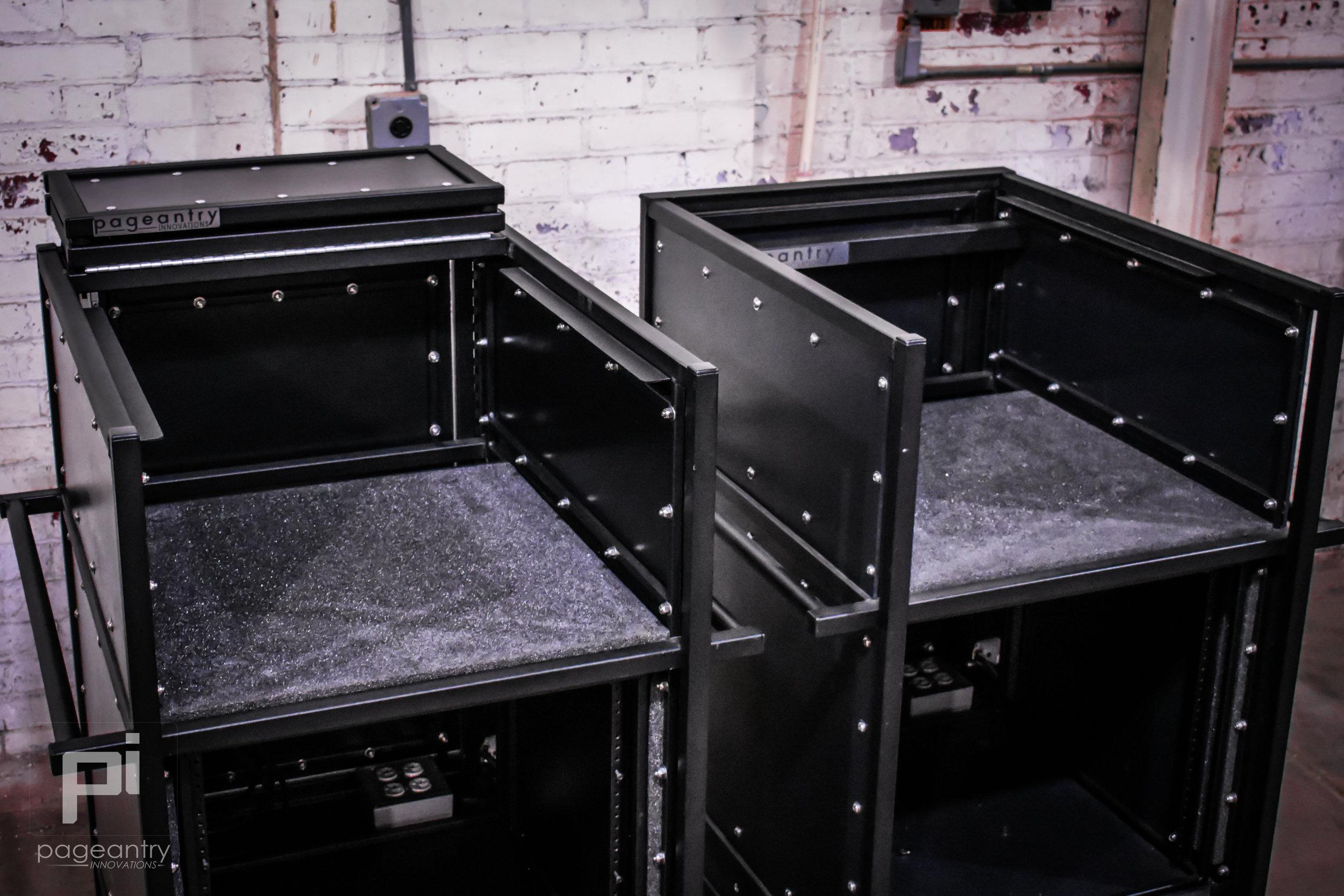 MC-10 Single Mixer Cart Bi-Fold Top Cover & MC-10 Single Mixer Cart Standard Cover