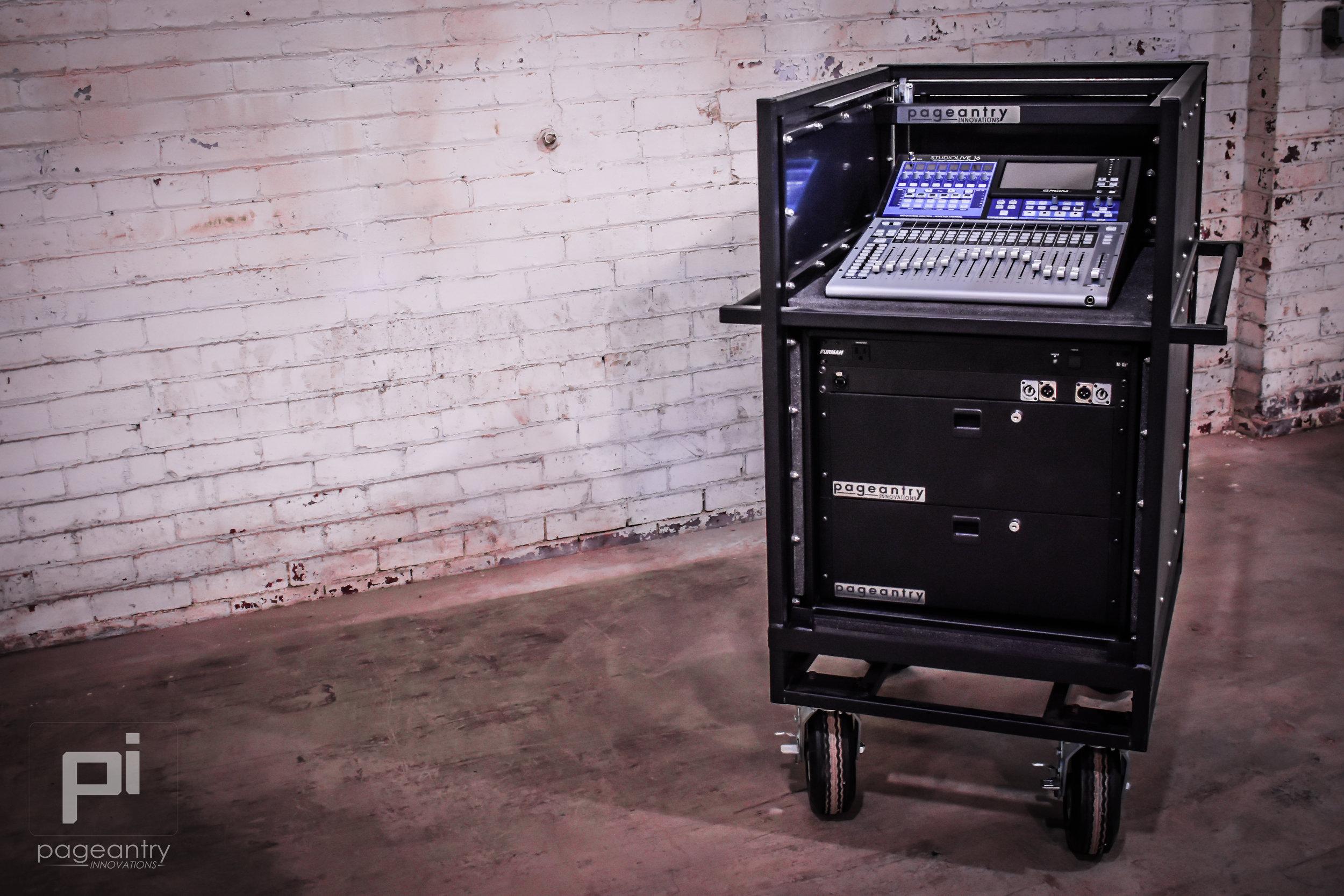 MC-10 Single Mixer Cart -