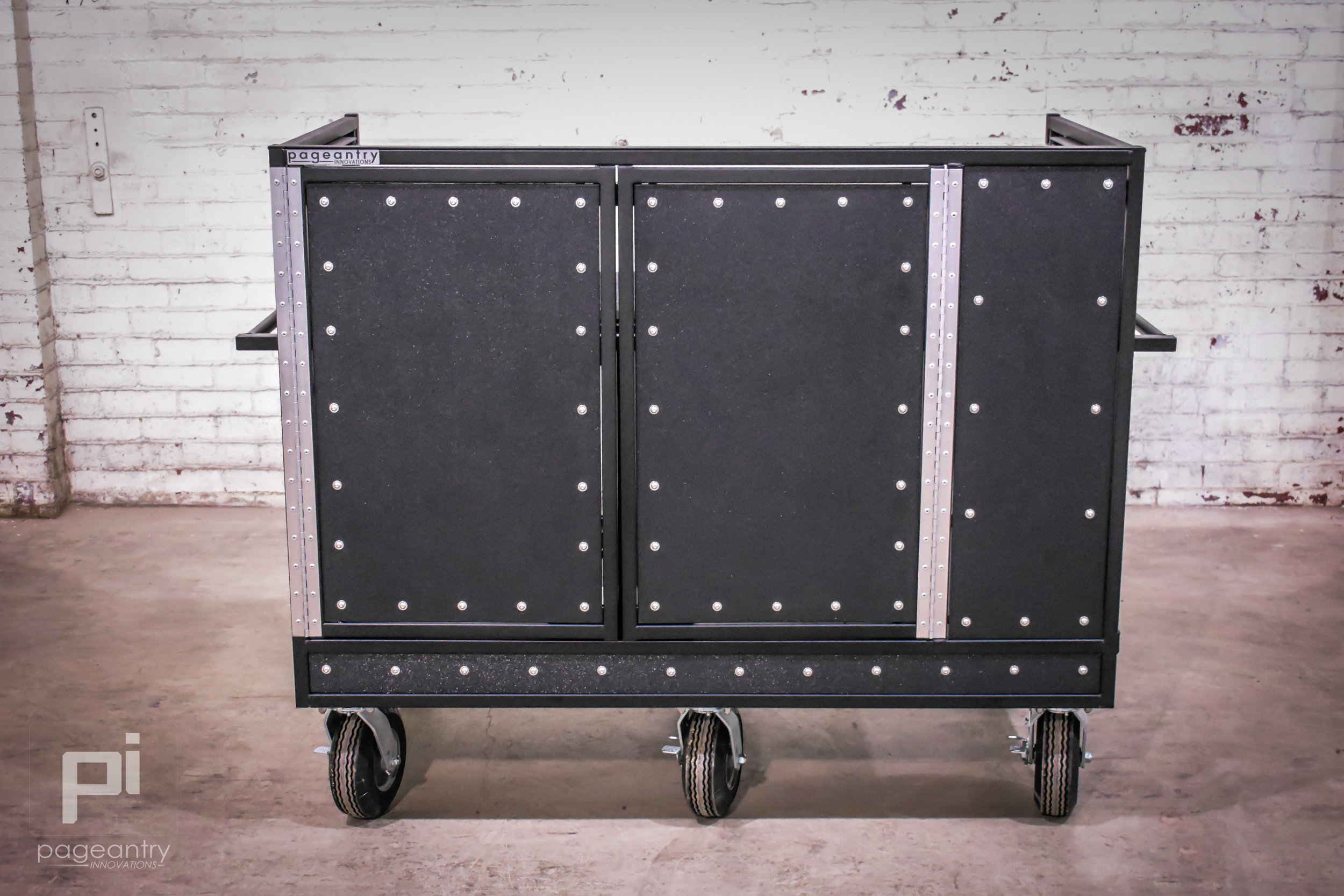 MC-25 Extended Double Mixer Cart