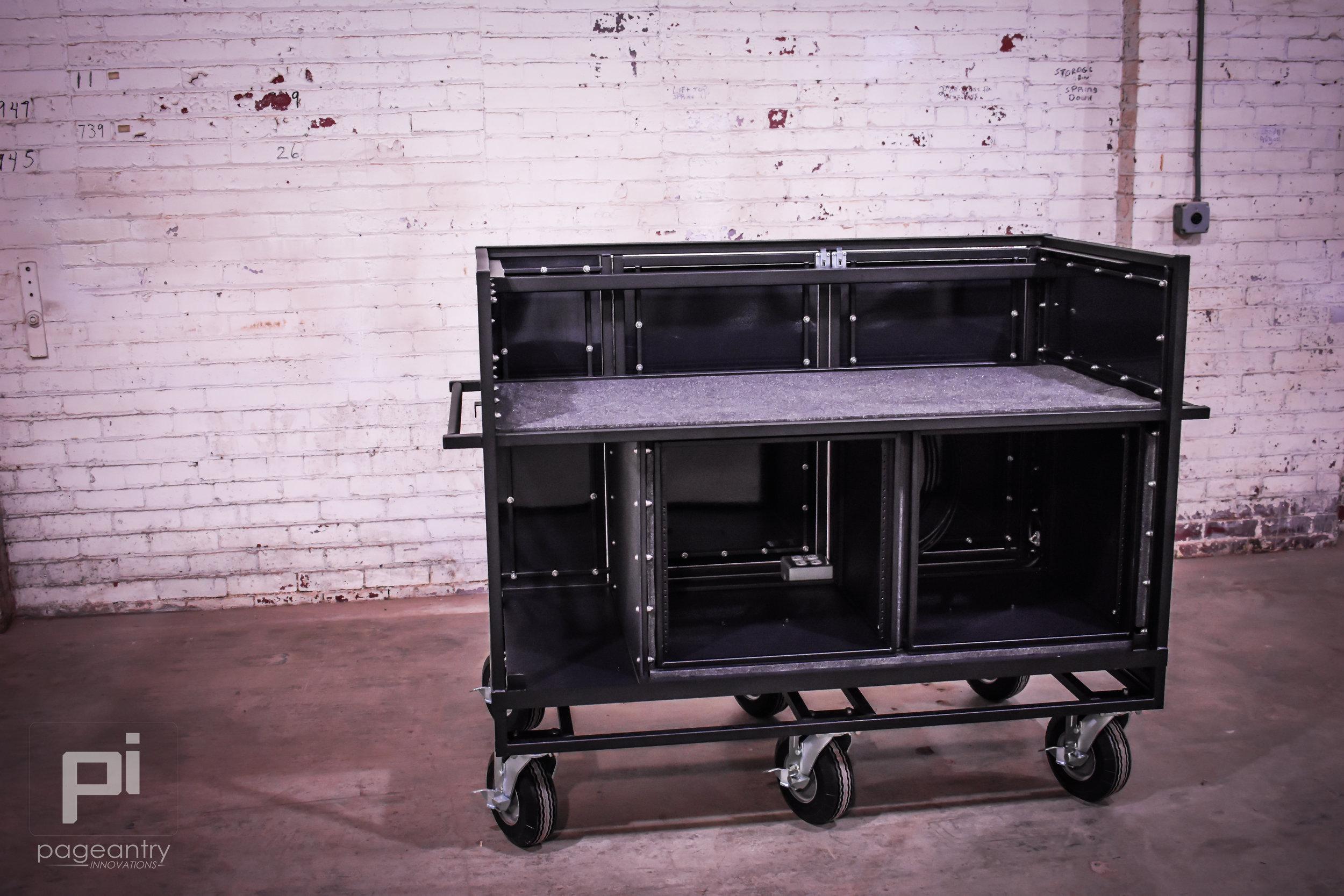 MC-25 Extended Double Mixer Cart -