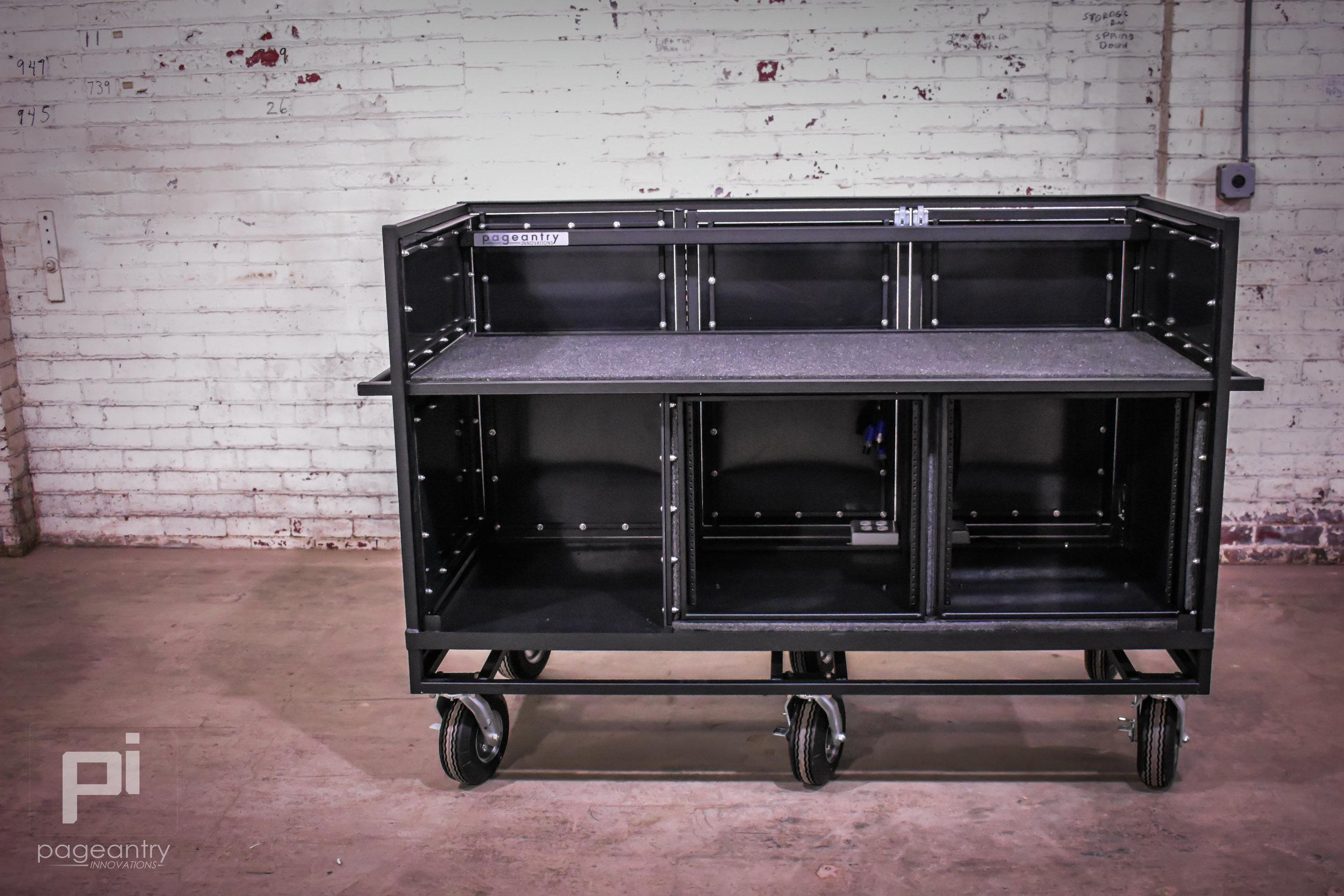 MC-30 Triple Mixer Cart -
