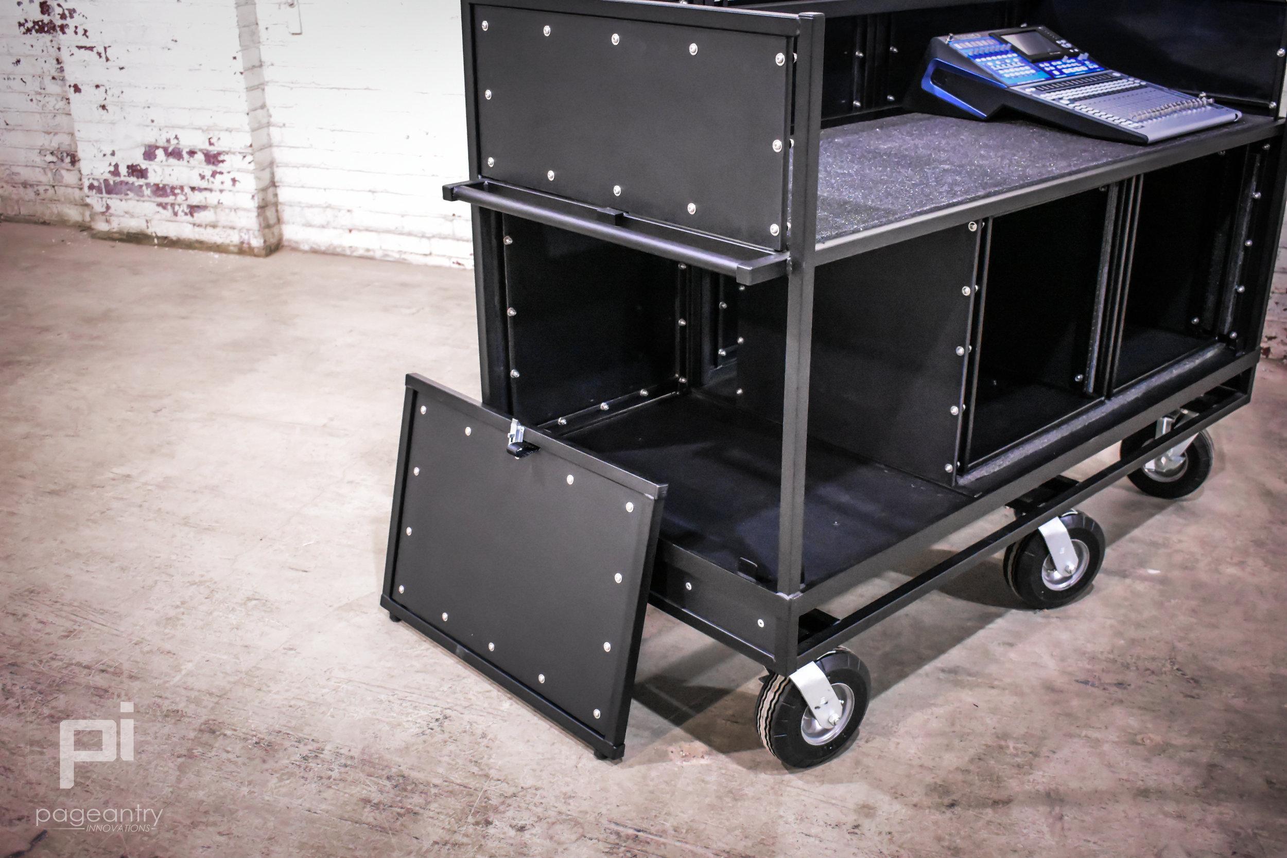 MC-30 Triple Mixer Cart