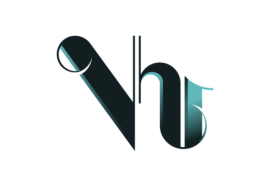Logo for VH1 apparel.