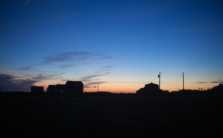 Sunset over Madaket Beach