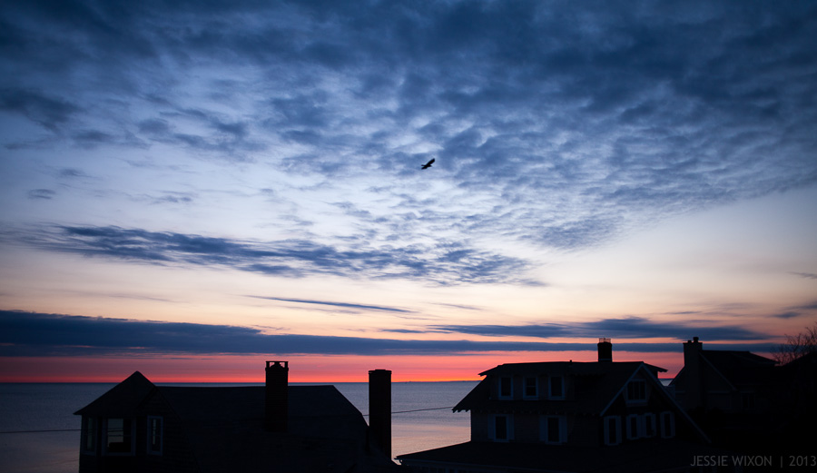 50/365  Sunrise over Cape Cod Bay