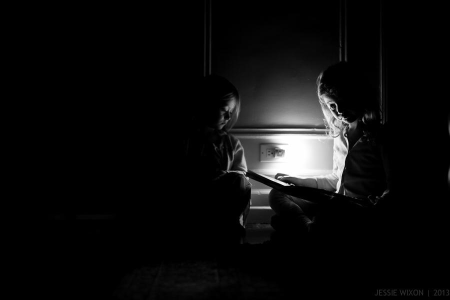 64/365   Reading by night light