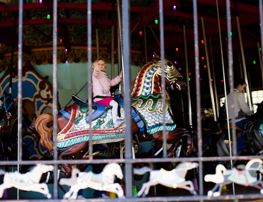 113/365  The carousel is back open!