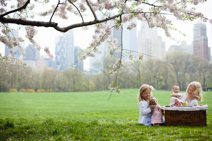 114/365  Tea party under the blossoms
