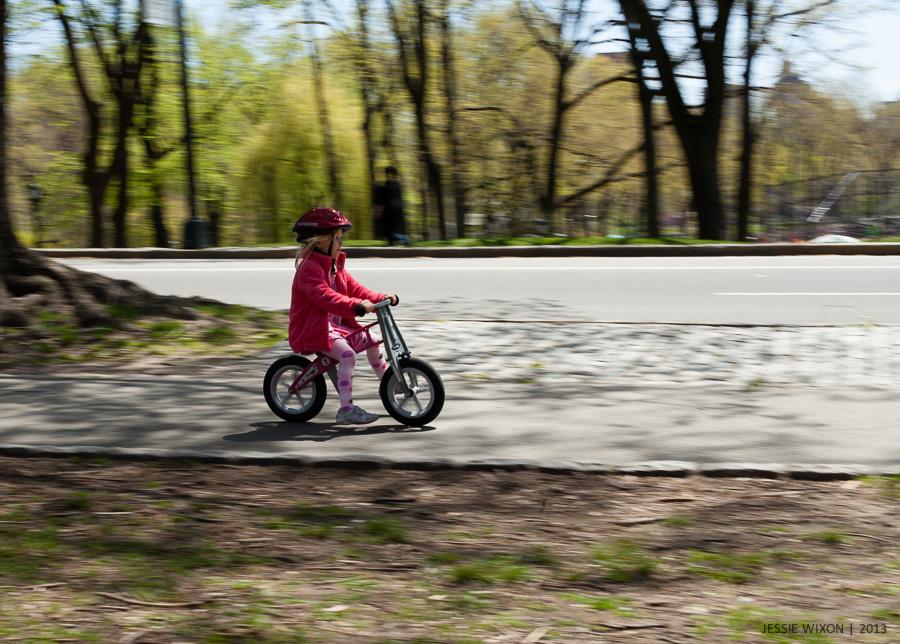 115/365  Loving her balance bike