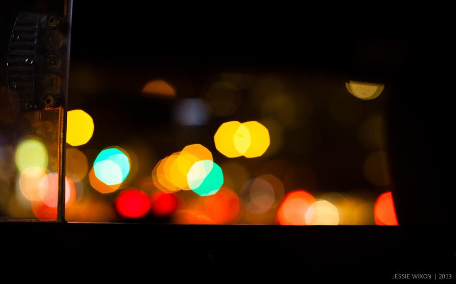 118/365  NYC through a cabbie