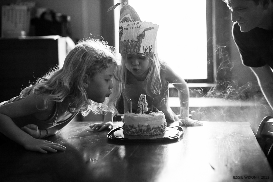 154/365  Happy 4th Birthday, Harper!