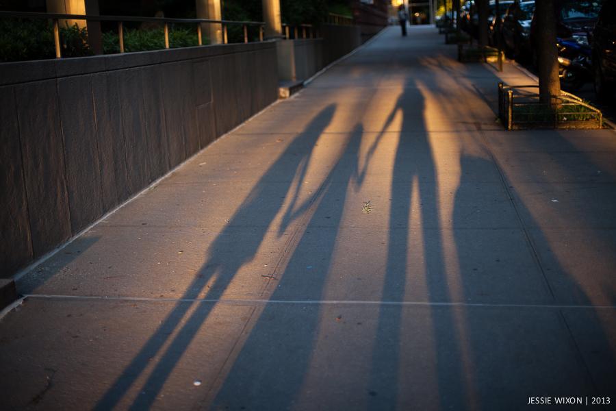164/365  Sunset walk home