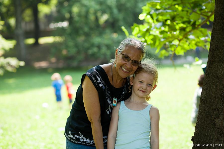 174/365  Drew and Miss Josephine