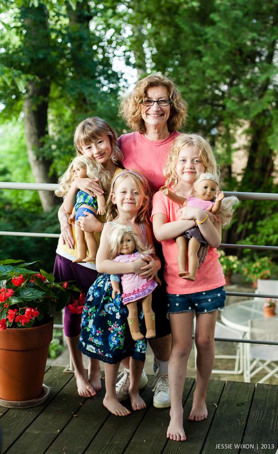 188/365  Grandma and her girls