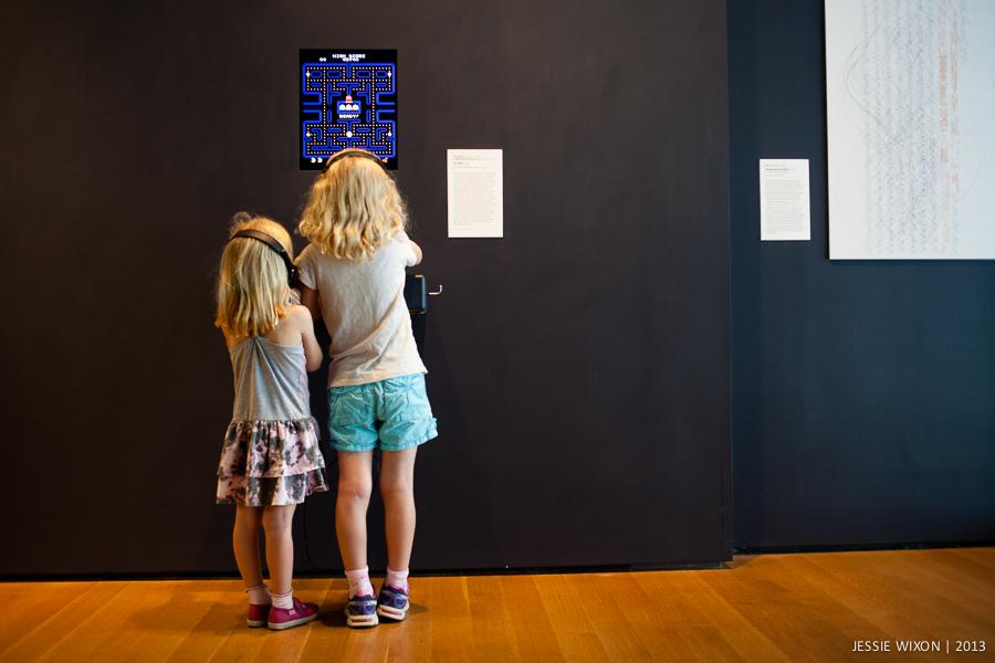 189/365  Retro Pac Man at the MoMA