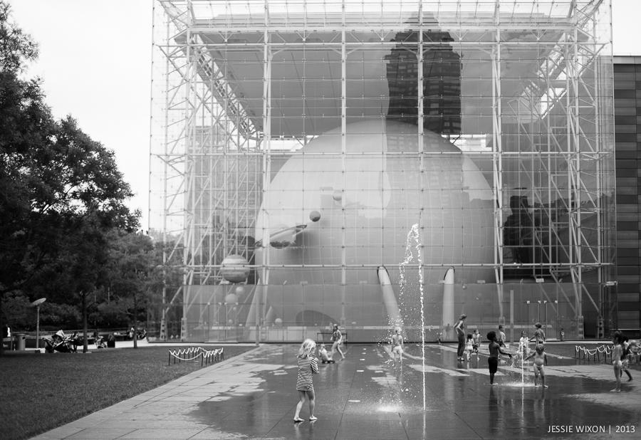 190/365  Sprinklers outside AMNH