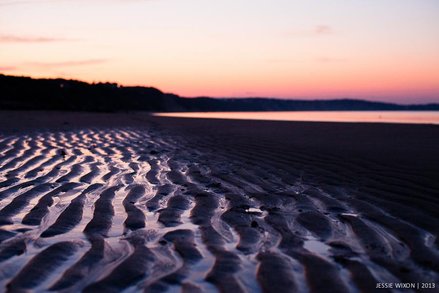 199/365  Sunset on the sandbar