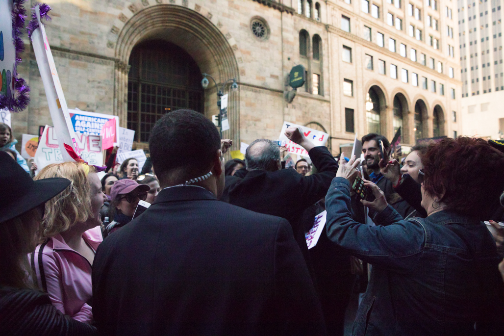 Senator Chuck Schumer, Women's March NYC
