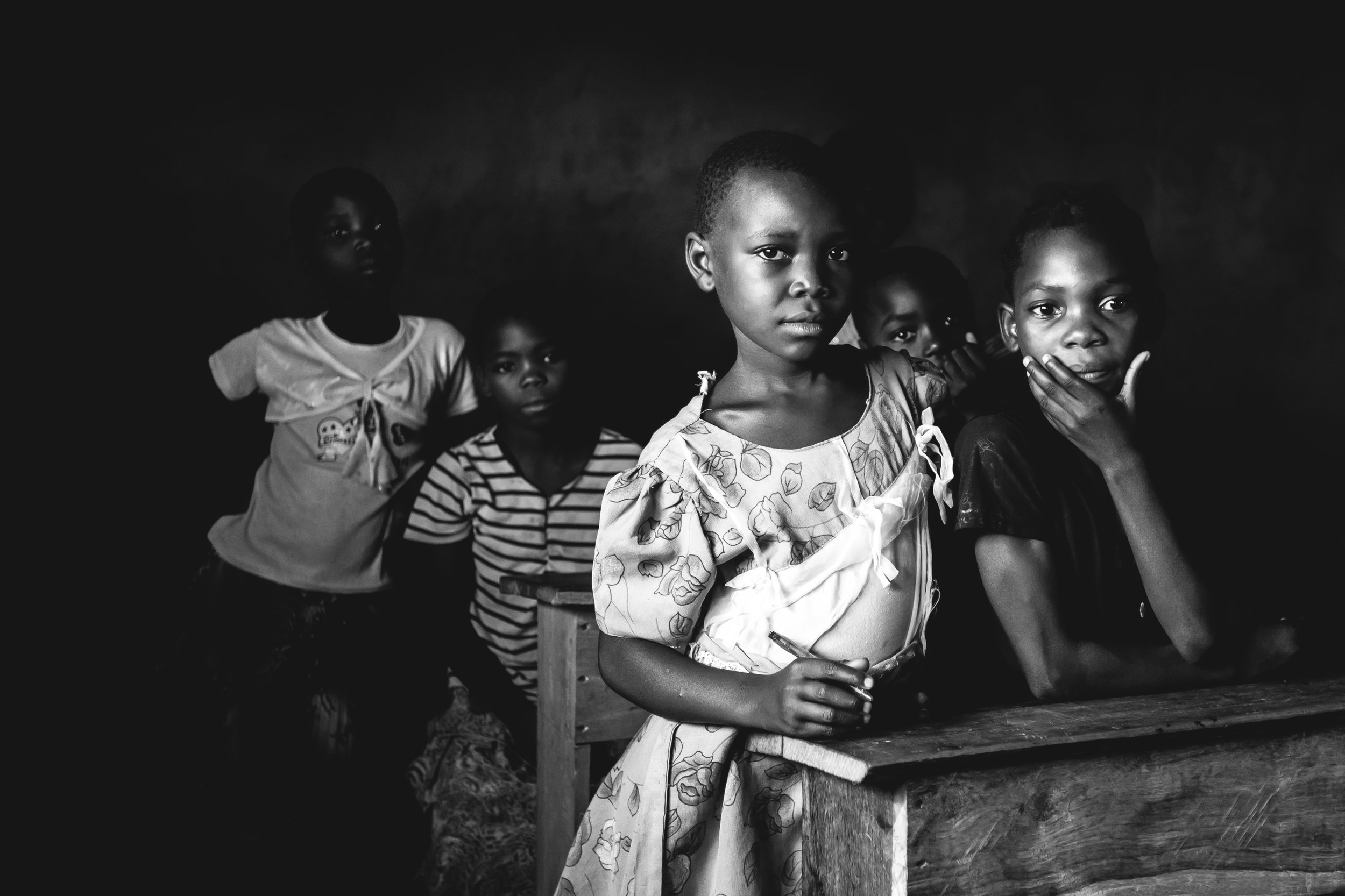"Mozambican Schoolgirl (2015 Finalist in ""Connection"" category)"