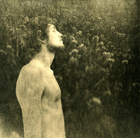 Self Portrait in Grass
