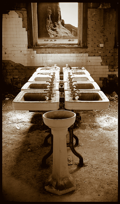 Dining Hall Bathroom