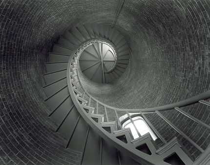 Spiral Stairs, Fort Point Lighthouse, Portsmouth, NH